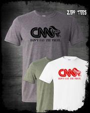 CNN Reptilians T-Shirt Fake News Meme Communist Clinton MAGA Alex Jones Liberal