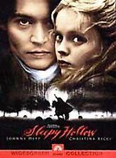 Sleepy Hollow DVD Johnny Depp,Christina Ricci,Miranda Richardson,Michael Gambon,