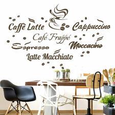 Deko-Wandtattoos & -Wandbilder mit Kaffee | eBay