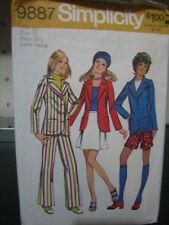 Vintage Simplicity #9887 Wardrobe Pattern-Size 9 JP