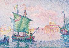 PAUL SIGNAC: Venise, le PINK CLOUD. Art Imprimé/Poster (4398)