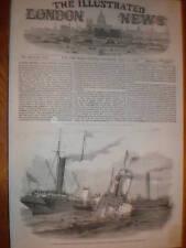 SS DUCHESSE de KENT & Ravensbourne Crash NORTHFLEET 1852
