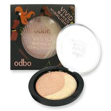 Odbo Vivid Highlight Shimmer Baked Makeup Shading Bronzer Blush On