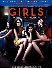 Girls: Season 1 (Blu-ray/DVD, 2012, 3-Disc Set)
