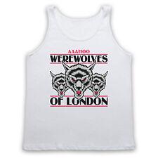 WARREN ZEVON TANK TOP UNOFFICIAL WEREWOLVES OF LONDON SLEEVELESS T SHIRT VEST