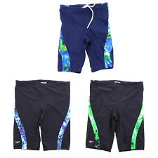 Speedo Men's Circle Sound Spliced Swimsuit Jammer Swim Short Trunks 8051218