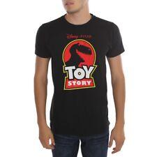 Toy Story Rex Logo T-Shirt New