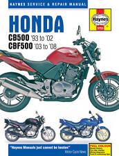 Haynes Manual 3753 - Honda CB500 93-02 & CBF500 93-08 workshop, service, repair