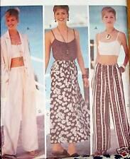 Butterick 3499 sz 6-12 Summer wardrobe pants skirt tank