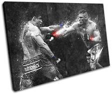 Brock Lesnar UFC Grunge Sports SINGLE LONA pared arte Foto impresion