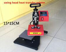 heat transfer printing press  for collar  sleeve  heating area 12*12cm 15*15cm