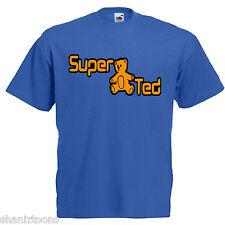 Super Ted Adults Mens T Shirt