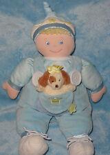 """Baby Gund Teach Me Prince Learn To Dress Soft Plush Boy Doll Puppy Dog 14"""" 58296"""