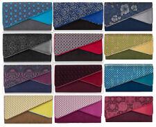 Ruby Shoo Sydney Envelope Clutch Bag Red / Black / Grey / Purple / Blue Heather