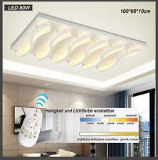LED 8028 Deckenleuchte inkl. Fernbedienung Lichtfarbe/Helligkeit einstellbar A+