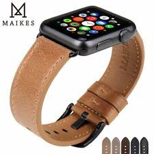 Apple Watch Armband Kette Zubehör Luxus Leder Optik schön Edel Anzug iWatch 1 2