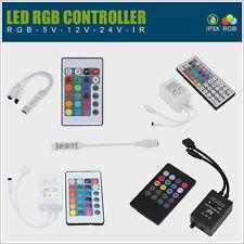 ✅ RGB Dimmer Controller f. LED Streifen Kontroller Steuerung SMD 5050 3528 Musik