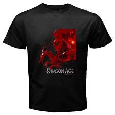 New Dragon Age Origins Famous Video Game Men's Black T-Shirt S M L XL 2XL 3XL