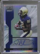 2011 Leaf Ultimate Draft Blue Metal Prismatic #U-JB1 Jonathan Baldwin Auto Card