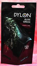 Dylon mano Dye 34 verde oliva con o senza sale (sconto per Qtà)