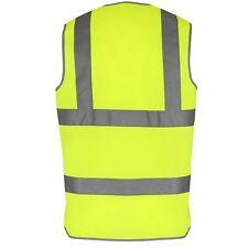 Yellow Hi Vis High Viz Visibility Vest EN471