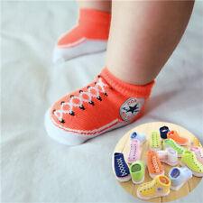 Baby Girl Boy Anti-slip Socks Toddler Newborn Slipper Shoes Boots 0-12 Months