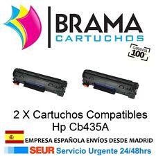2 X Toner compatible Con HP LaserJet CB435A 35A P1005 P1006
