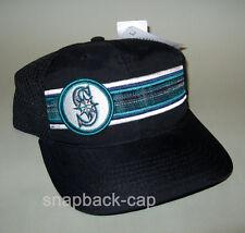 Vintage vtg American Needle seattle Mariners MLB Mesh a snapback CAP 90's nos