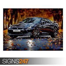 0235 NISSAN SKYLINE GT R Car Poster Picture Poster Print Art A0 A1 A2 A3 A4