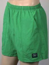 Speedo Green Swim Shorts Trunks Mesh Lining Waterproof Pocket NWT