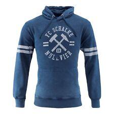 S04 FC Schalke 04 Herren-Kapuzen-Sweat-Shirt  Schlägel & Eisen