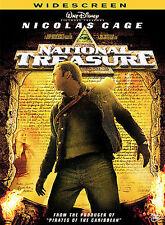 2005, DVD, National Treasure, Widescreen, Nicholas Cage, Sean Bean