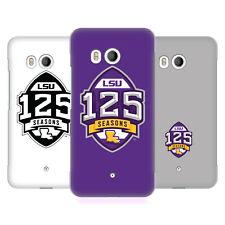 Oficial Louisiana State University LSU 2 funda rígida posterior para teléfonos HTC 1