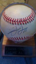 FRANK THOMAS SIGNED MLB OFFICIAL BASEBALL