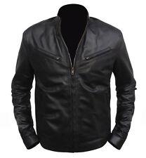 Men's New Fashion Slim fit bomber Motorcycle genuine biker premiu leather Jacket