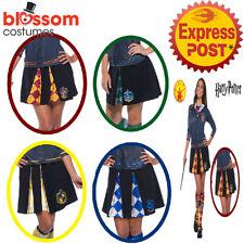 CA768 Licensed Adult Ladies Deluxe Skirt Harry Potter Cosplay Book Week Costume