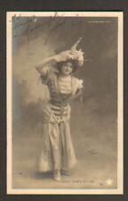 ARTISTE : Mlle DORA LETINE , Cliché WALERY en 1902