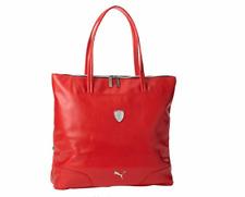 PUMA PMMO2019RED FERRARI LS SHOPER Red Polyurethane Shopper Bag