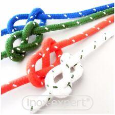 0,66€//1m Leine 5mm Schot Seil geflochtene Polyesterleine 2m 4735