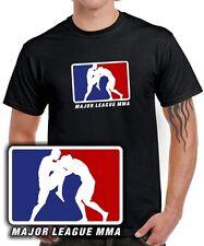 T SHIRT MMA MAJOR LEAGUE Ultimate Fighting k1 cage thai kick boxen jiu jitsu ufc
