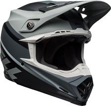 2020 Bell Moto 9 MIPS PROPHECY Motocross Helmet Matte Black White Grey Adult