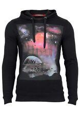 QS by s.Oliver Herren Sweatshirt  Design Kapuze Langarm Pullover Clubwear Outfit