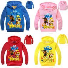 Toddler Kids Boys Girls PAW PATROL Casual Hoodies Long Sleeve Cartoon Clothes