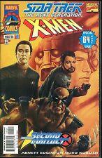 Star Trek Next Generation X-Men Second Contact 1 Marvel Comic crossover Variant