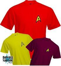 STAR TREK T SHIRT - Trekkie spoke bones sheldon vulcan - Quality T Shirt - *NEW*