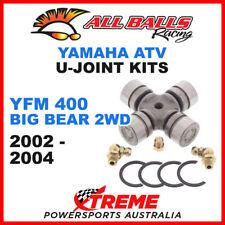 19-1003 Yamaha YFM400 Big Bear 2WD 2002-2004 All Balls U-Joint Drive Shaft Kits