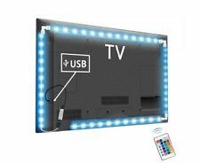 LED TV Backlight RGB Neon 5050SMD 1M 2M 3M Strip Light 24 Keys Remote Control