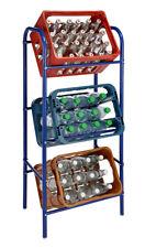 Kastenständer - 4 Farben - 3 / 6 Kisten Ständer Kistenregal Getränkekistenregal