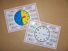 Clock/Time - Telling the Time - A4 Poster/Mat - Clock Face, KS1/KS2 Numeracy