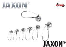 5pcs tutte le dimensioni e pesi TESTE PIOMBATE anti-snag Jaxon TANAMI Weedless Pike Perch